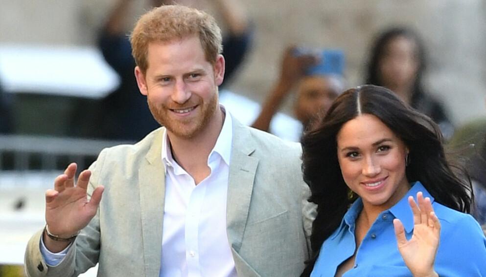 FORLATER SOSIALE MEDIER: Hertuginne Meghan og prins Harry har kvittet seg med sosiale medier. Foto: NTB