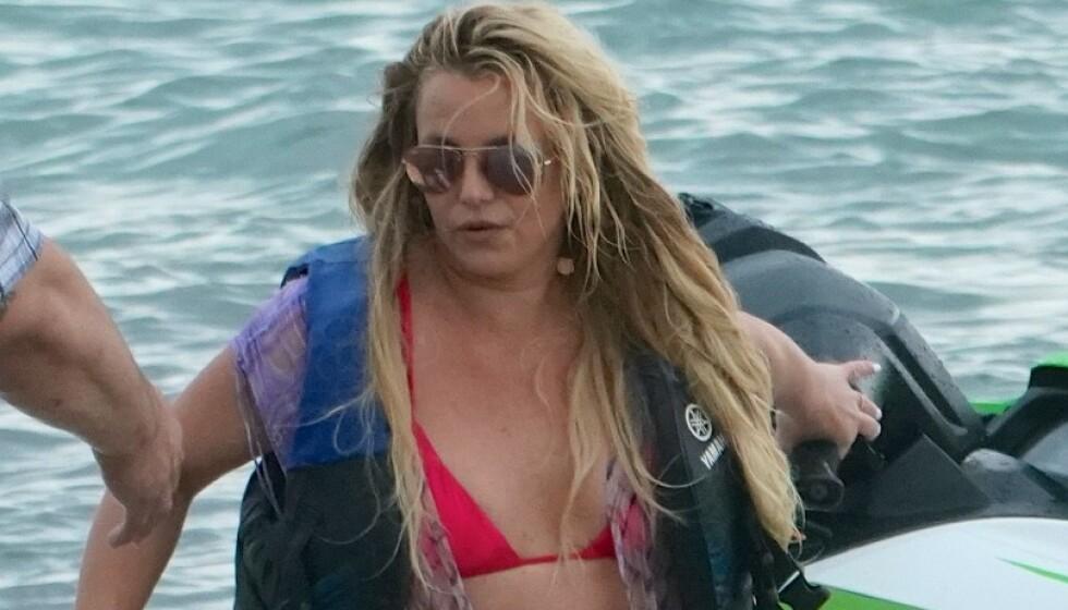 BRYTER TAUSHETEN: Britney Spears adresserer for første gang fansens store bekymring for henne. Foto: SplashNews.com Splash News and Pictures, NTB