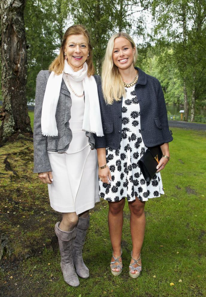 MOR OG DATTER: Mille-Marie Treschow og datteren Victoria Marie Treschow i 2014. Foto: Andreas Fadum / Se og Hør