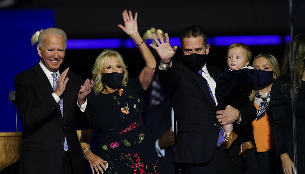 SKILLER SEG UT: Med Melania Trump som førstedame har vi vært vant med ekstravagante antrekk til skyhøye priser, men når Jill Biden entrer rollen som USAs førstedame kan vi trolig vente oss noe helt annet. Foto: Andrew Harnik / AP Photo / NTB