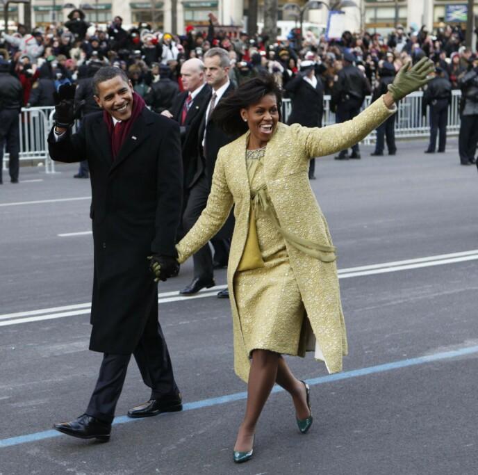 SNAKKER UT: I sin nye bok forteller Barack Obama hvordan jobben som USAs president preget ekteskapet til Michelle Obama. Foto: Charles Dharapak / AP / NTB