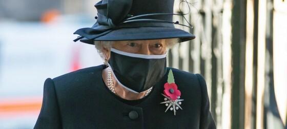 Annonserte dronningens bortgang
