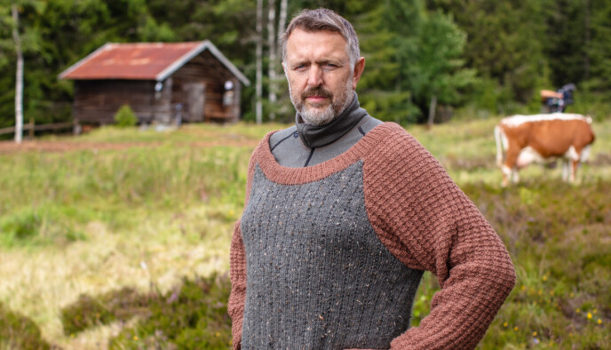 KLAR PLAN: Olav Harald Ulstein forteller at han og de to andre på gården gikk inn for at de som ankom gården ikke skulle trives, men at de ikke klarte å være kalde og kyniske. Foto: Alex Iversen / TV 2