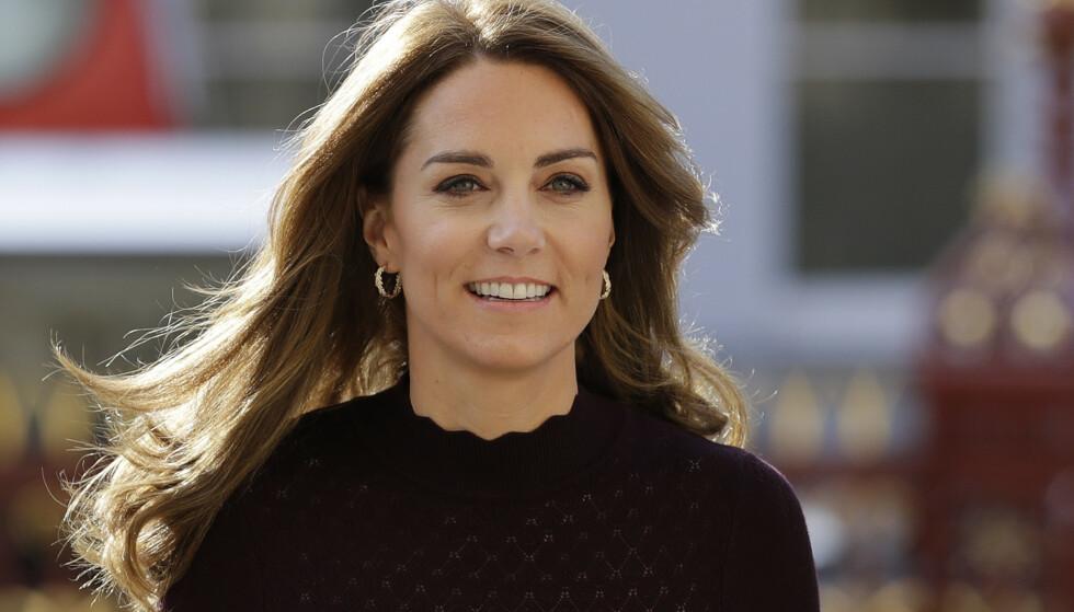 LIKE: Observante tv-tittere har lagt merke til at kvinnen ligner på prins Williams kone, hertuginne Kate. Foto: AP / Kirsty Wigglesworth