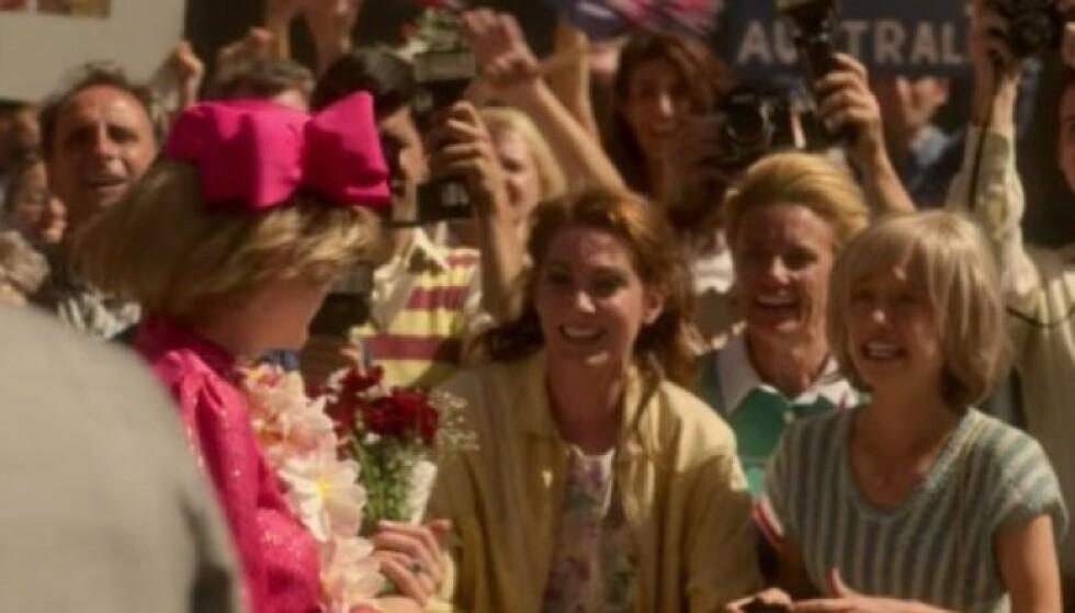 LIGNER: Flere har lagt merke til detaljen i episode seks av den nye sesongen av «The Crown». Foto: Netflix