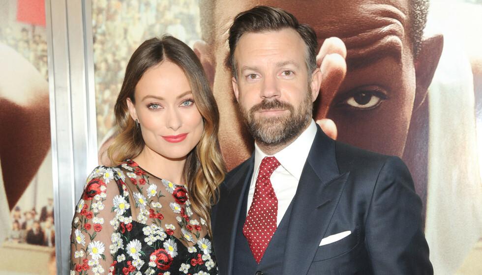BRUDD: Forrige helg ble det kjent at Hollywood-stjernene Olivia Wilde og Jason Sudeikis går hver til sitt etter ni år. Foto: Mediapunch/REX/NTB