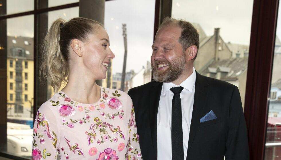BLE FORELDRE: Truls Svendsen og Charlotte Smith har blitt tobarnsforeldre. Foto: Andreas Fadum / Se og Hør