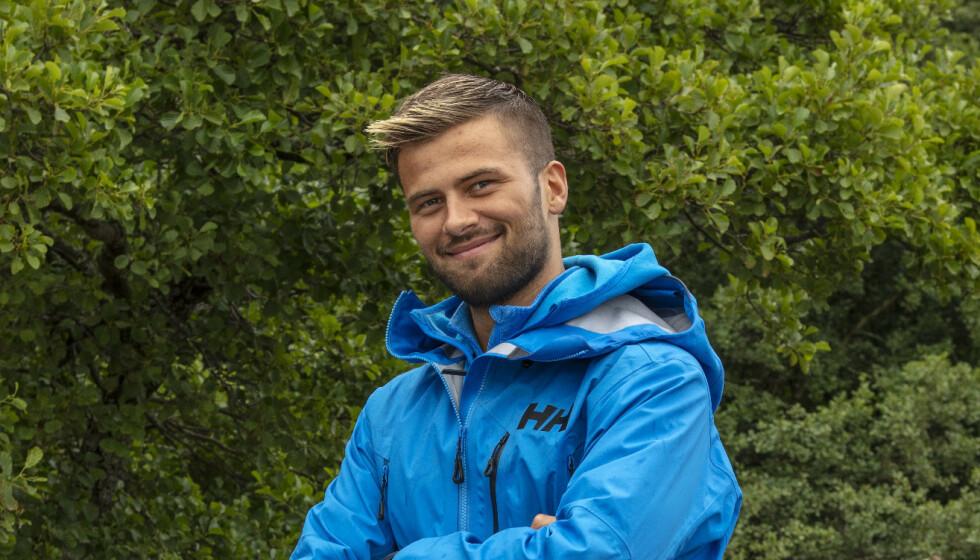 PÅ SYKEHUS: Realityprofilen Mario Riera er innlagt på sykehus i Trondheim, grunnet ulcerøs kolitt. Han er for tida å se i «71 grader nord». Foto: Matti Bernitz / TVNorge