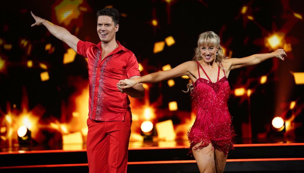 FINALEPAR: Andreas Wahl ble vinneren av «Skal vi danse» 2020. Foto: Espen Solli / TV 2
