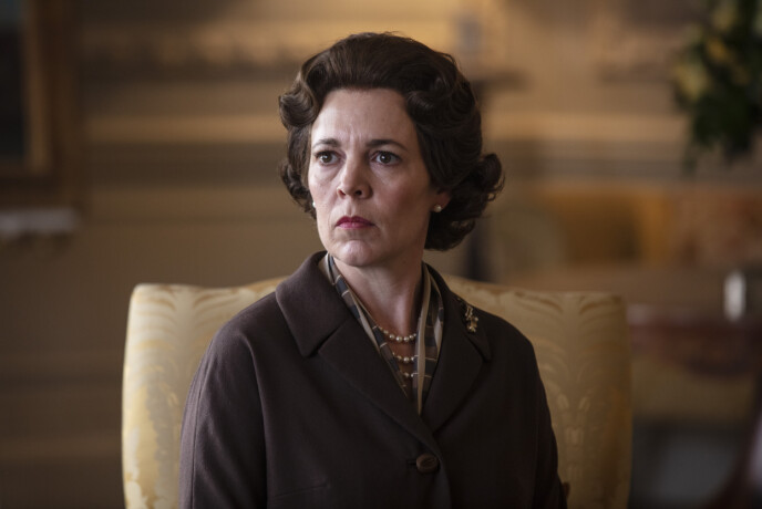 THE QUEEN SOUL: Olivia Colman plays Queen Elizabeth in season four.  Photo: Sophie Mutevelian / AP / NTB