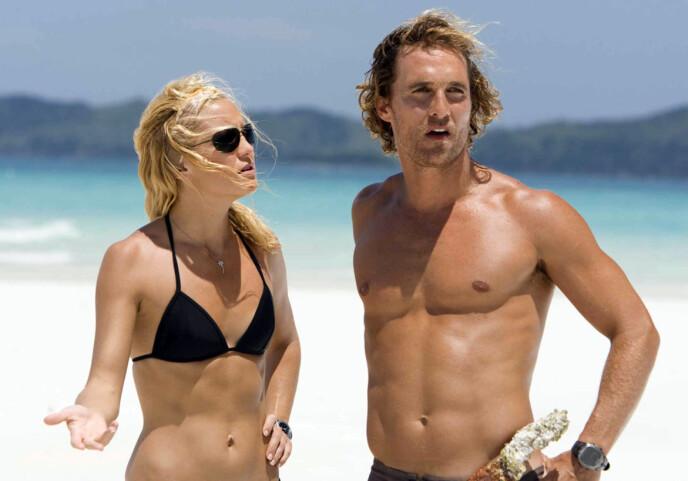 DUO: Kate Hudson og Matthew McConaughey spilte sammen i «Fool's Gold». Foto: Moviestore/REX/NTB