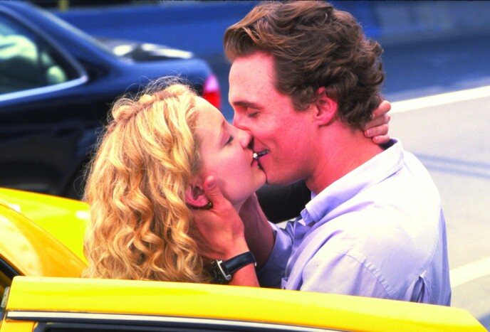 KLINER TIL: Her er Matthew McConaughey og Kate Hudson i filmen «How to Lose a Guy in 10 days». Foto: Snap Stills / REX / NTB
