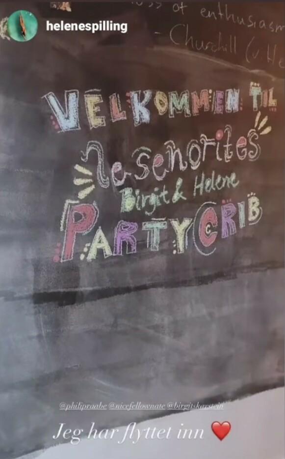 SAMBOERE: Birgit Skarstein og Helene Spilling røpet samboerskap på Instagram. Foto: Skjermdump Instagram