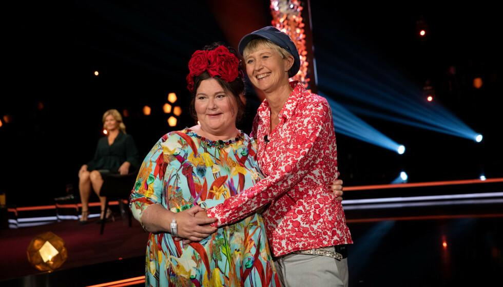 HOS LINDMO: Ekteparet fortalte åpenhjertig om livets utfordringer hos Anne Lindmo tidligere i høst. Foto: Julie Naglestad / NRK