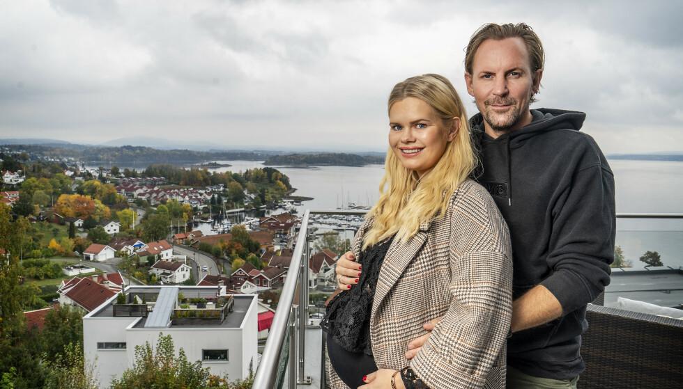 SNART TOBARNSMOR: Julianne Nygård venter sitt andre barn med ektemannen Ulrik Nygård. Foto: Hans Arne Vedlog/ Dagbladet