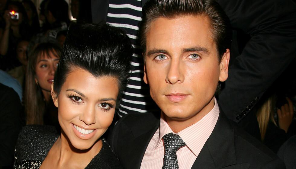 EKSER: Kourtney Kardashian skal etter sigende ikke ha noen problemer med at eksen Scott Disick har funnet tonen med den 19 år gamle modellen Amelia Hamlin. Foto: Dave Allocca / Starpix / REX / NTB