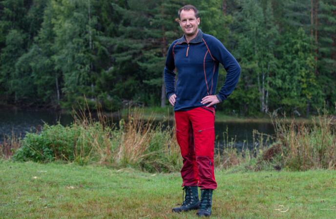 UTFORDRER: Per Gunvald, eller PG som han kalles på gården, kom inn som utfordrer tidligere i sesongen. Foto: Alex Iversen / TV 2