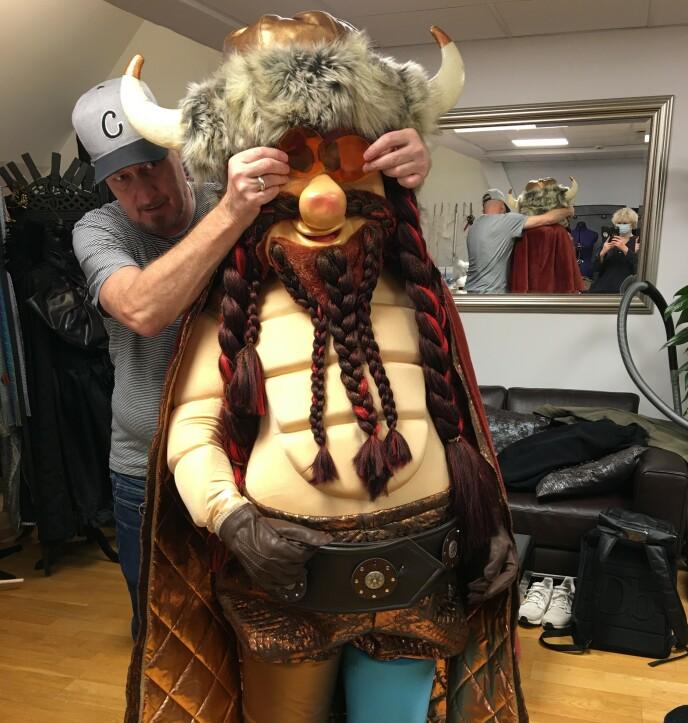 FORTSATT MED: «Vikingens» identitet er fortsatt skjult. Foto: Privat