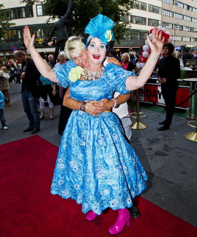 GODT GIFT: Christine Koht har hele tiden hatt kona, Pernille Rygg, ved sin side. Foto: Vegard Grøtt / NTB