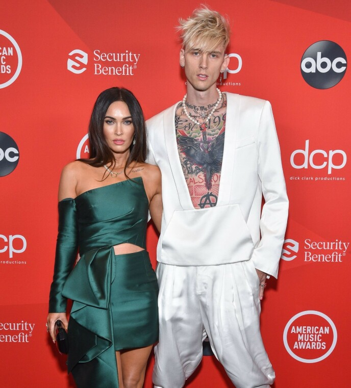 NY MANN: Megan Fox har forelsket seg i fire år yngre Colson Baker. Foto: ABC/ Shutterstock/ NTB