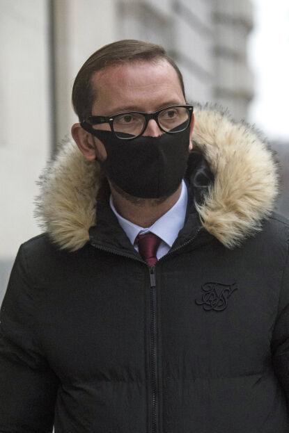 TYVEN: Adamo Canto da han forlot retten i London mandag. Foto: Kirsty O'connor / Pa Photos / NTB