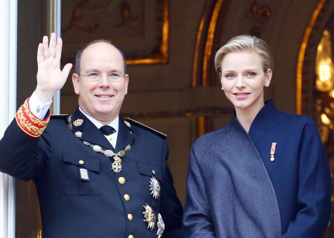 GODT GIFT: Fyrst Albert og fyrstinne Charlène giftet seg i 2011 og har siden den gang holdt sammen. Foto: Splash News / NTB