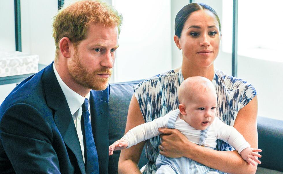 BEKYMRINGER: Prins Harry er ærlig om bekymringene for miljøet og hvordan det vil se ut når sønnen Archie er på hans alder. Foto: Splash News/ NTB
