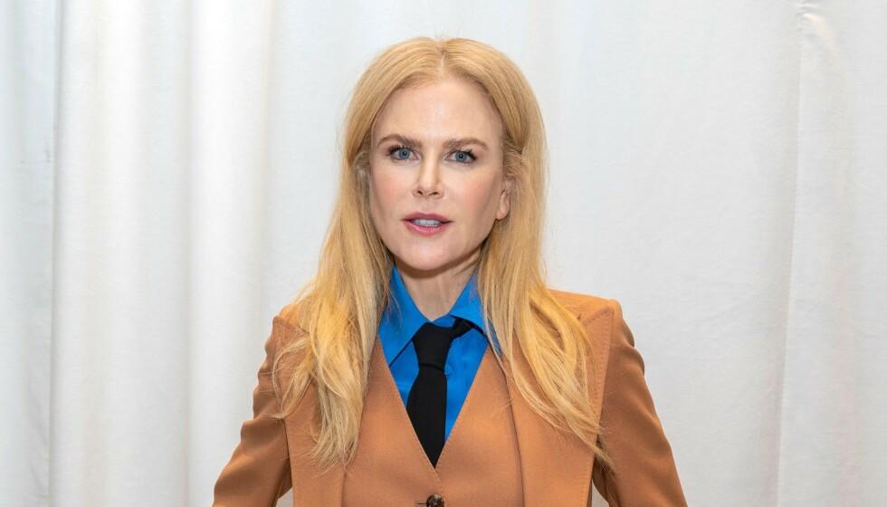 SUKSESSFULL DAME: Nicole Kidman har blant annet vunnet en Oscar Award, en Emmy Award og fire Golden Globe Awards for sitt skuespillertalent. Bildet er tatt i mars i år. Foto: Magnus Sundholm/Shutterstock/NTB