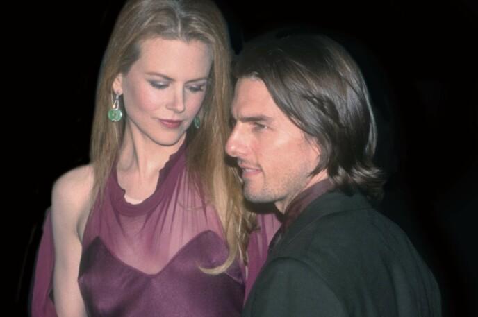 VANSKELIG BRUDD: Nicole Kidman og Tom Cruise ble regnet som et av Hollywoods heteste par på 90-tallet. Bruddet kom som et sjokk på Kidman. Foto: Mediapunch/REX/NTB