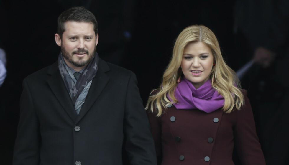HVER TIL SITT: Stadig nye detaljer om bruddet mellom Kelly Clarkson og Brandon Blackstock dukker opp. Foto: AP Photo / Pablo Martinez Monsivais / NTB