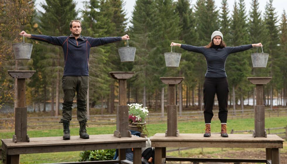 UTE: Rett før finalen måtte Karianne Kopperstad forlate konkurransen. Det er ekstremt bittert, synes hun. Foto: Alex Iversen / TV 2