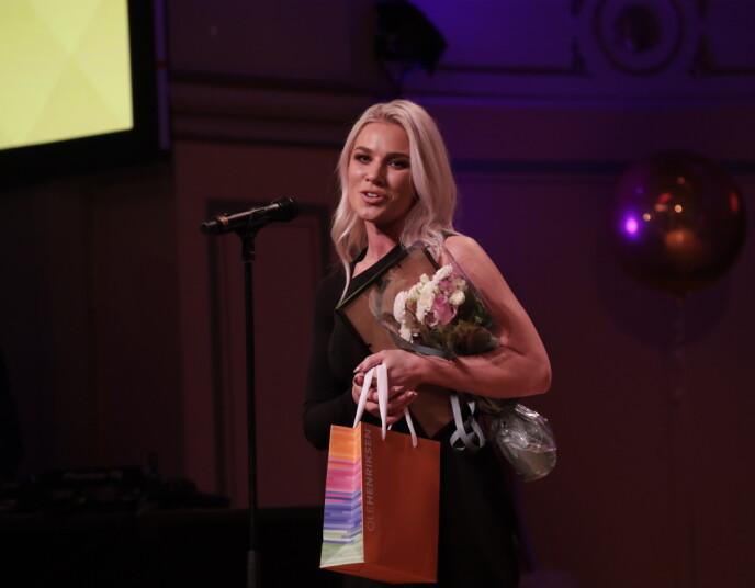 VANT: I år vant Eveline Karlsen prisen for «Årets influenser beauty». Foto: Vidar Ruud / NTB