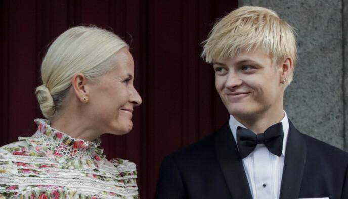 ØKNING: Marius Borg Høiby tjente egne penger i fjor, til forskjell fra året før. Foto: Vidar Ruud / NTB