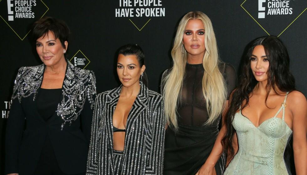 ANNERLEDES FEIRING: Selv for realityfamilien Kardashian blir årets julefeiring påvirket av pandemien. Foto: Jean-Baptiste Lacroix / AFP / NTB