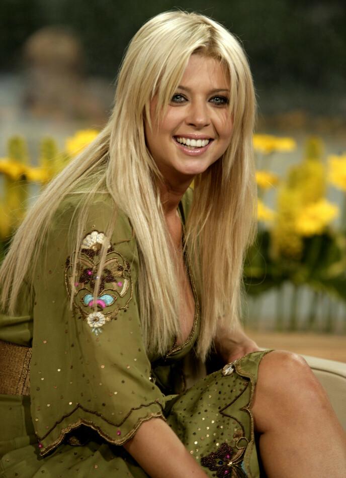 HÅPEFULL: Da den unge stjernen ankom Hollywood var hun helt ubevisst om at karrieren kom til å ta en helomvending. Foto: Ken McKay/REX/NTB 19 AUG 2005