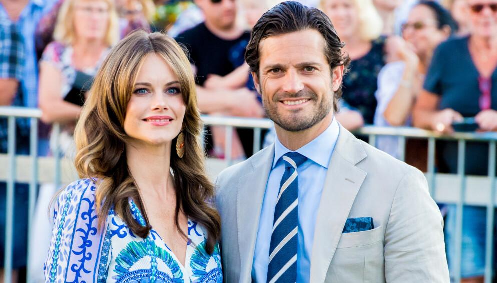 FAMILIEFORØKELSE: Det svenske prinseparet blir foreldre igjen. Foto: Splash News / NTB