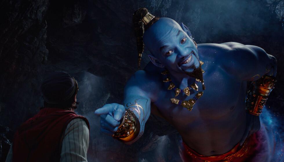 MULGHET: Durek Verrett som ånd hadde vært noe å se på direktesendt tv. Her er Will Smith i rollen, fra «Aladdin»-filmen. Foto: Disney / AP