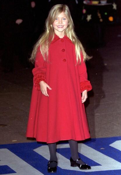 DEN GANG DA: Taylor Momsen i forbindelse med premieren av «Grinchen» i 2000. Foto: Terry Williams / REX / NTB