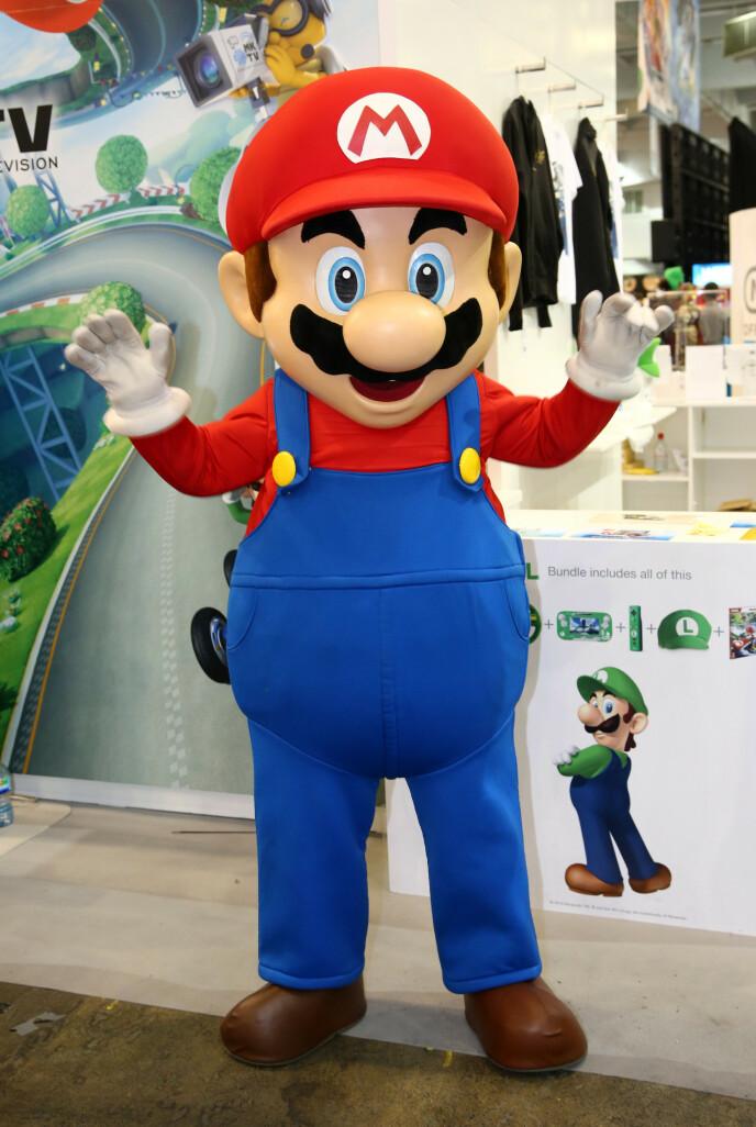 KURT NILSEN: Kunne hele Norges rørleggersanger ha skjult seg inni det et slikt kostyme? Selvsagt. Nintendo hadde imidlertid trolig ikke tillatt akkurat det. Foto: Paul Brown/REX, NTB