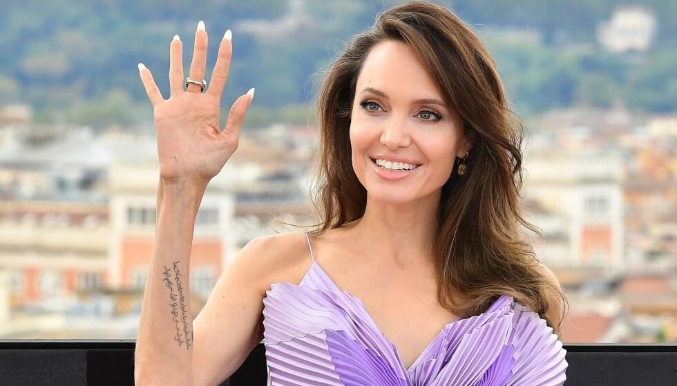 ÅPNER OPP: I forbindelse med en ny Disney-film har Angelina Jolie lettet på sløret om sine egne barn og hvordan de påvirker henne. Foto: Tiziana Fabi / AFP / NTB