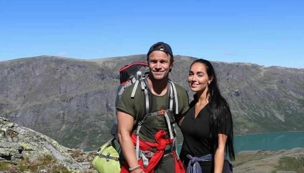VENTER BARN: Kjell-Ola Kleiven og forloveden venter sitt første barn sammen. Foto: Privat