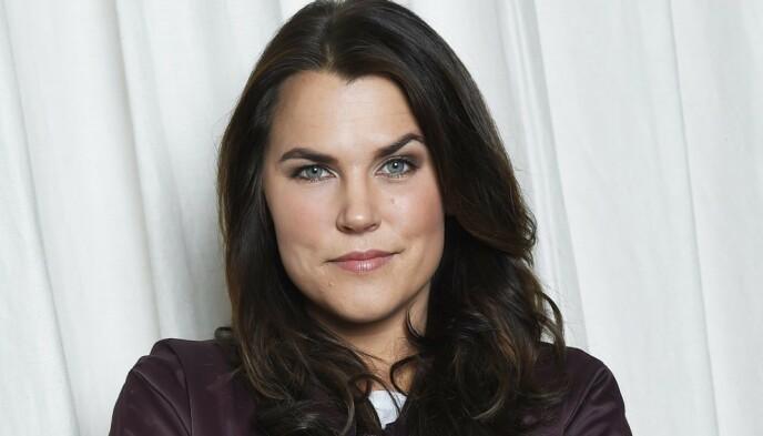 TV-FJES: Mia Skäringer fikk sitt store gjennombrudd som Anna i komiserien «Solsidan» i 2010. Foto: Aftonbladet