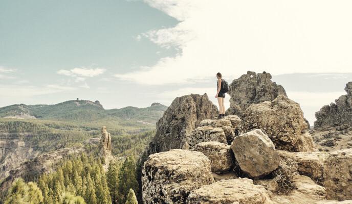 UOPPDAGET: Selv om Gran Canaria er nordmenns foretrukne reisedestinasjon, finnes det et vell av naturopplevelser og severdigheter du bare finner til fots.