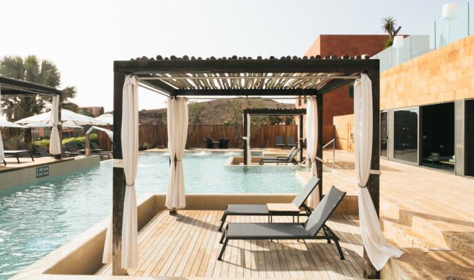 SPAAVDELING: Når du er ferdig i poolen, kan du ta turen innom Salobre Hotels særlige Be Aloe-spa - og få glede av spesialtilpasset behandling påde best tenkelige fasiliteter.