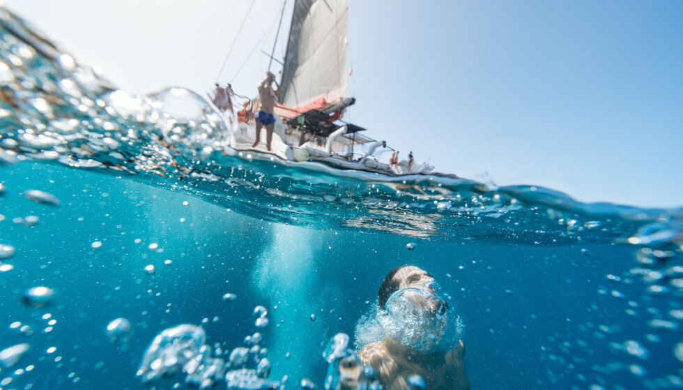 BØLJAN BLÅ: Ta et dypdykk i det varme havet som omgir Gran Canaria. Gran Canaria Blue sørger for opplevelser i farvannet som omgir øya. Et eldorado for eventyrlystne saltvannskrabber!