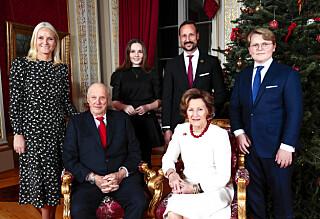 Kongefamilien bryter juletradisjonen