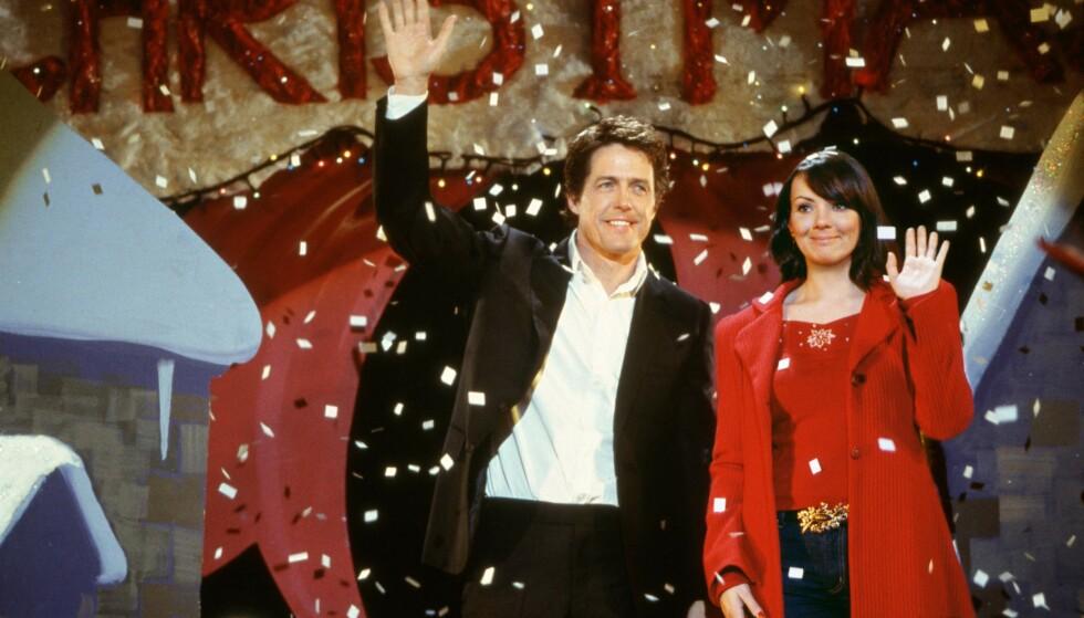 JULEKLASSIKER: For nordmenn er Martine McCutcheon best kjent som Hugh Grants søte sekretær i den romantiske komedien «Love Actually» fra 2003. Foto: NTB