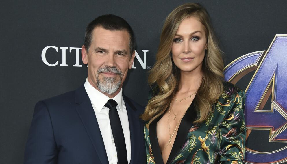 FORELDRE IGJEN: «Avengers»-stjernen Josh Brolin (52) og kona Kathryn Boyd (33) har fått sitt andre barn sammen. Foto: Jordan Strauss / INVISION / TT / NTB