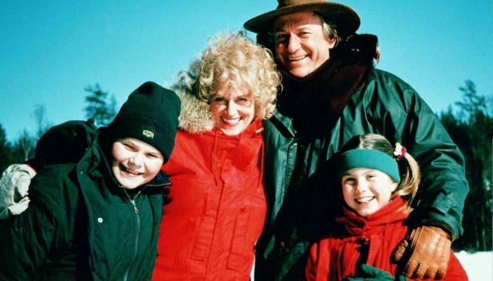 «AMALIES JUL»: Jostein Mellegård Jakobsen (t.v.) hadde rollen som Magnus i «Amalies jul» i 1995. Foto: Odd G. Iversen