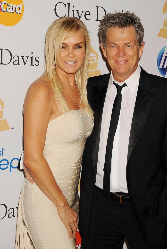 EKSKONA: I seks år var David Foster gift med modellmamma Yolanda Hadid. Foto: Shutterstock Editorial / REX / NTB